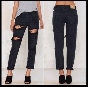 NWT Aritzia One Teaspoon Awesome Baggies Jeans Size 29